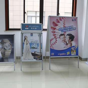 Advertising exhibition trade show folding display poster stand