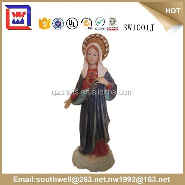 catholic religious items virgin mary garden statues