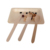 Natural Disposable Wooden Tableware Spoon Fork Knife Cutlery Set For Party