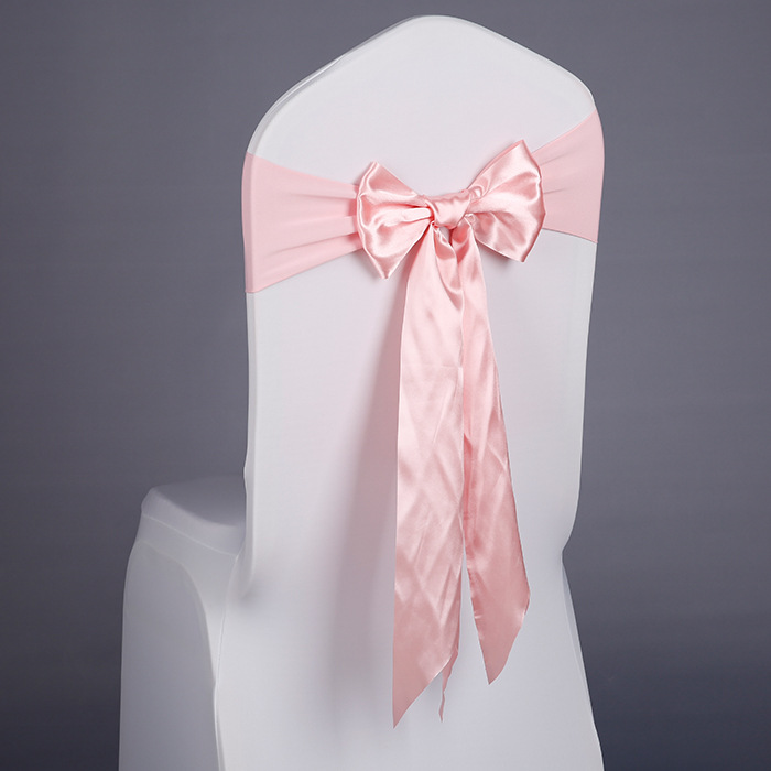 Распродажа, недорогой стул с завязкой YRYIE, розовое кресло с завязками, стул с завязками для свадьбы
