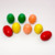 IN54674 Cute 3D eggs crayons gift for kids ,  novelty colors stackable easter egg crayons