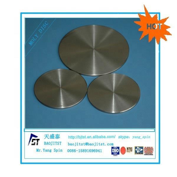 99.95% молибденовый диск moly, молибденовый диск