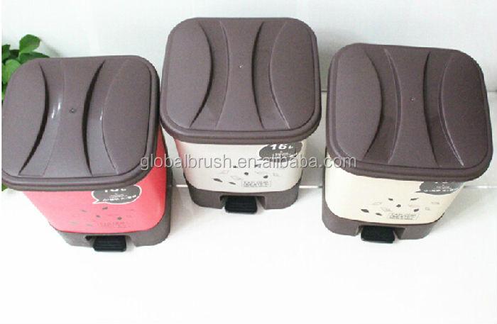 Hq2365 Bathroom Accessories Dubai Foot Pedal Pp Dust Bin ...