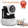 SUNLUXY 720P HD WiFi IP Camera 1MP Wireless Network Onvif CCTV Baby Camera P T IR