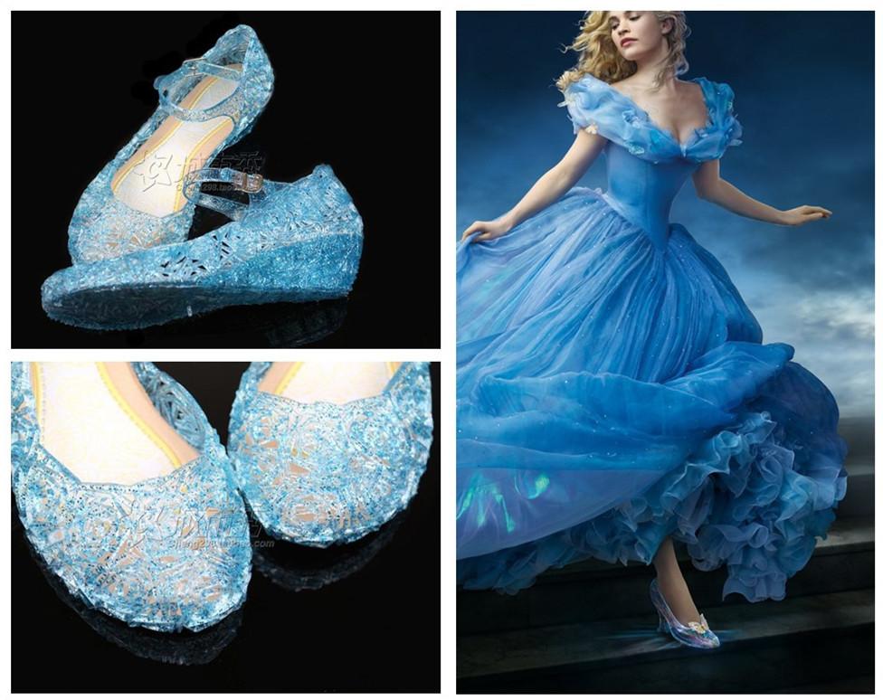 Fancy Dress Cinderella Shoes