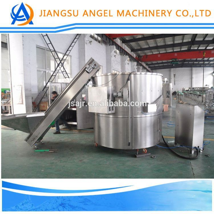 Monoblock Automatic Bottle Unscrambler /round water filling machine for 10litter/mineral water processing machine