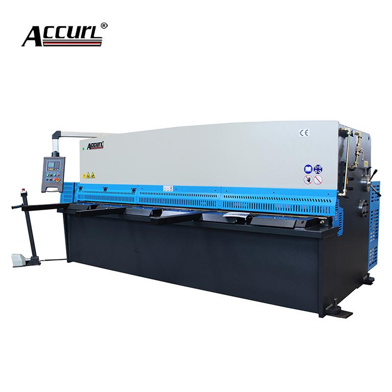 Accurl QC11Y-8*3200 Hydraulic CNC Shearing Machine/Metal Cutter
