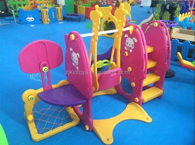 Экологически безопасная Регулируемая игровая площадка, детские качели и горки