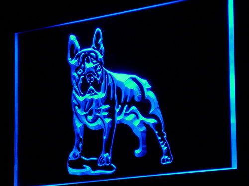 j126-b French Bulldog Dog Pet Shop NEW Neon Light Sign