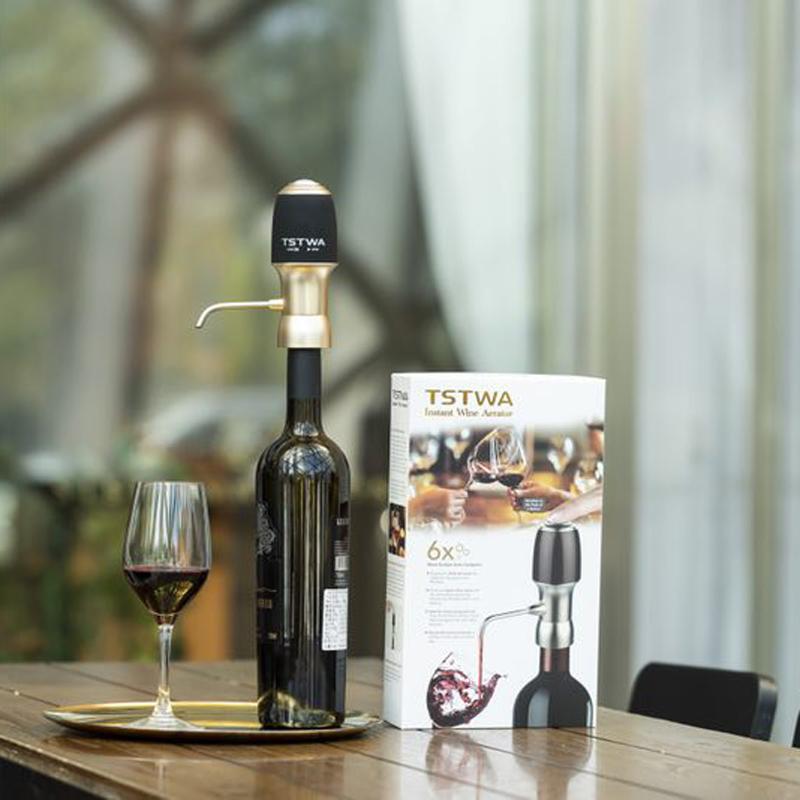 2019 New Design Wine Air Aerator, Wine Aerator Stainless Steel, Wine Aerator Gift Box With Great Price