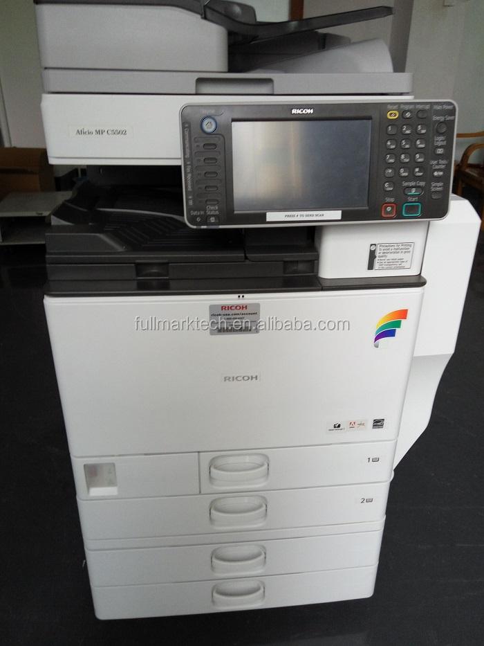 used ricoh copier machine mpc 4502 color photocopy printing copiers