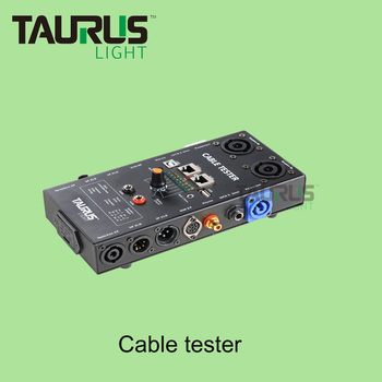 Professional Audio Cable Tester RJ45