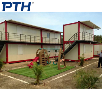 two floor container house, container home, office buildings