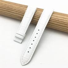 18 мм (пряжка 16 мм) для Tissot женские часы T035210A T035207 Высокое качество Натуральная кожа ремешок для часов(Китай)