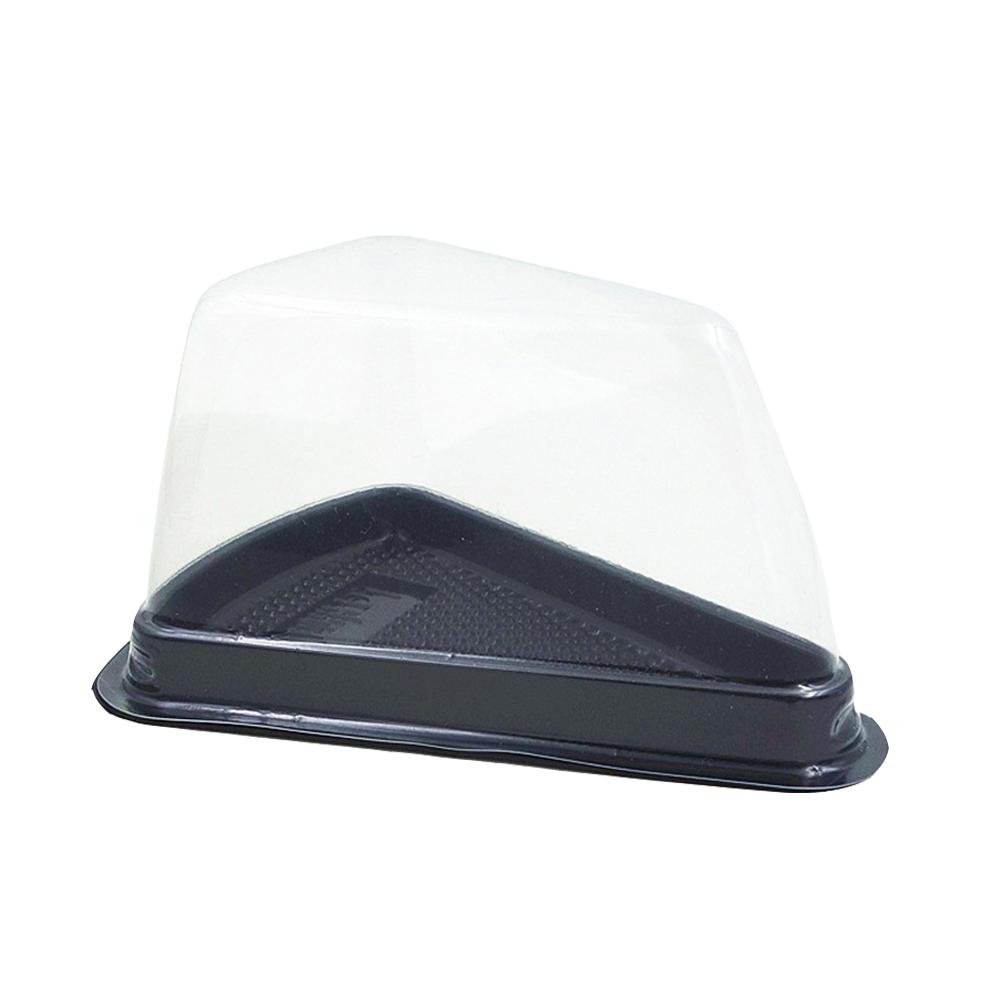 Индивидуальные пластиковые блистерные ломтики, квадратные треугольные упаковочные коробки для торта