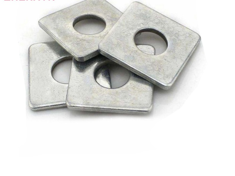 High quality good service square washer provided and customized.