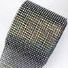 AB crystal  black  mesh