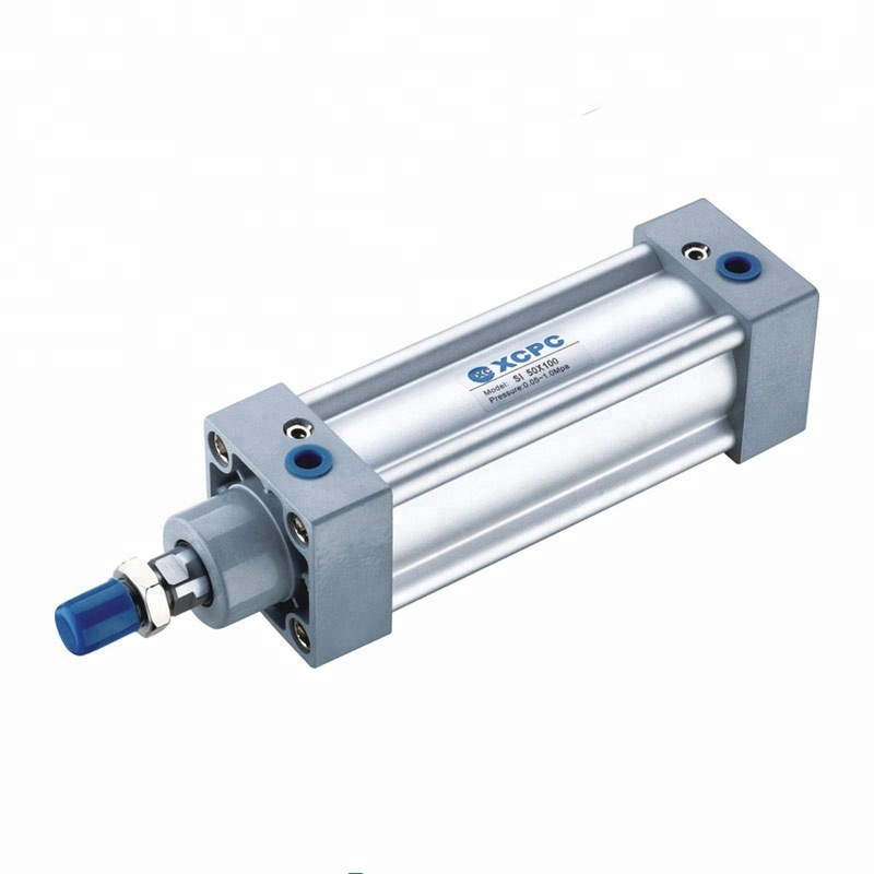 Double Piston Double Acting Pneumatic Cylinder