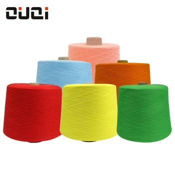 Dyed Custom high quality ring spun 21s-32s black white color combed 100% cotton yarn for socks on sale