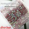 silver base mix pink