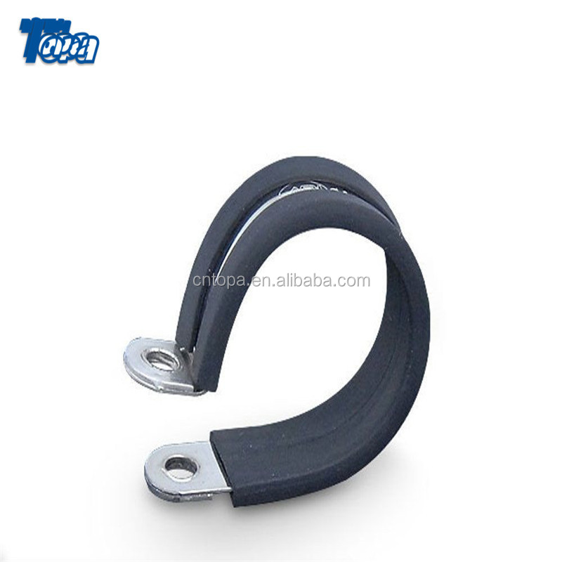 20-32mm Galvanized Fitting European Fastener Strong P type rubber Hose Clamp Pliers