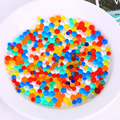 Hot Sale 3MM 5000PCS Bag Soft Crystal Water Paintball Water Balls Soil Water Beads Gun Toy
