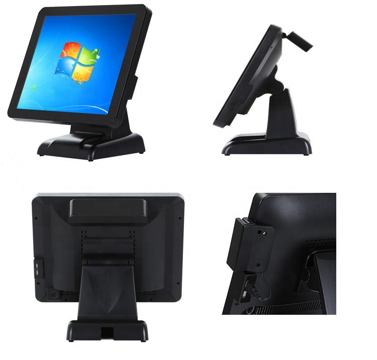 Заводской профессиональный экспорт сенсорный экран кассовый аппарат с FVD