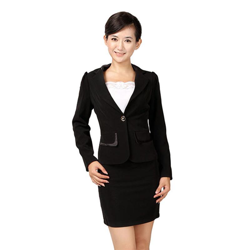 Women hotel manager uniform design
