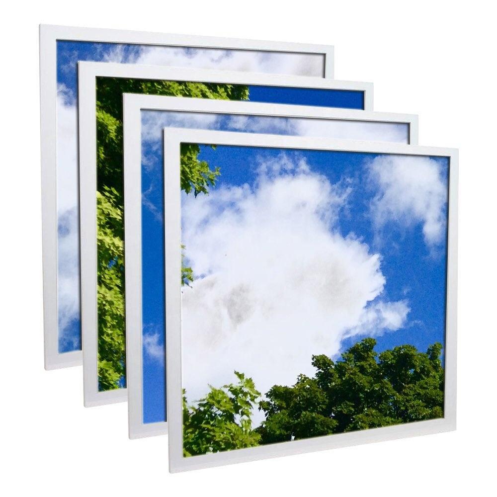 Blue sky decorate 2*2 40W square led panel light led blue sky ceiling light panel with ceiling pictures