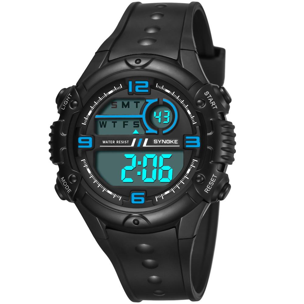 d15aa4859097 Compre SYNOKE Multi Function 50M Reloj Impermeable LED Digital Reloj ...
