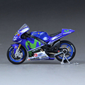 1 18 Scale YAMAHA YZR M1 MAISTO 46 diecast miniature motorcycles model motor Race Bikes Rossi