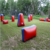 Commercial grade pvc inflatable laser tag paintball arena