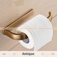 Держатель для бумаги, 5 цветов, твердая латунь, настенное крепление, держатель для туалетной бумаги, аксессуары для ванной комнаты, держател...(Китай)