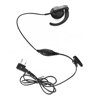 Two way radio earpiece swivel headset for Kenwood TK-220/320 TK272G/372G
