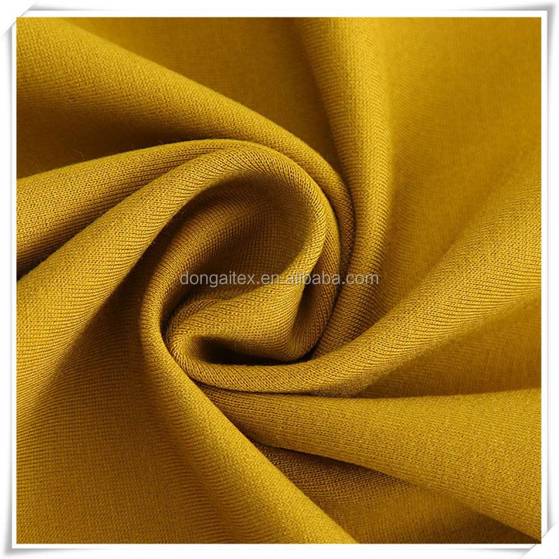 New Fashion Style Lady Cloth Fabric Super Soft Elastane Jersey Roma Fabric Polyester nylon Ponte De Roma Fabric