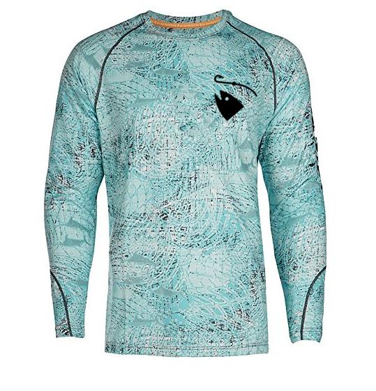 high quality Long Sleeve UV Sun Protection Performance Fishing Shirt custom sublimation printing low MOQ cheapest price