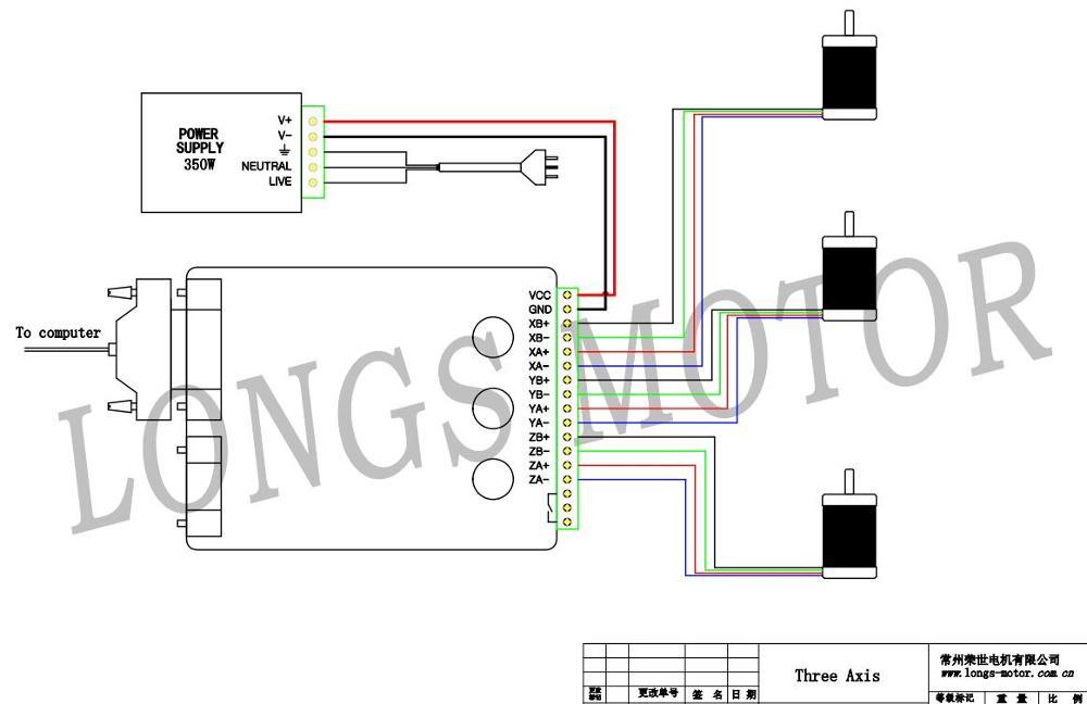 haydon stepper motor wiring diagram long s stepper motor wiring diagram 【german free ship】3axis nema23 stepper motor 270oz-in,3a ...