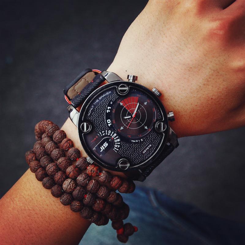 1afd7b425788 Big Watches Men Luxury Watch Men Brand Quartz Watch Outdoor Dress  Wristwatches Military Watch relogios masculinos