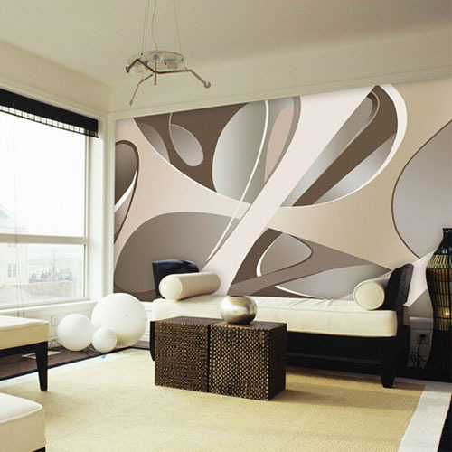 Living Room Wall Murals: Aliexpress.com : Buy Europe Large Abstract Wall Mural