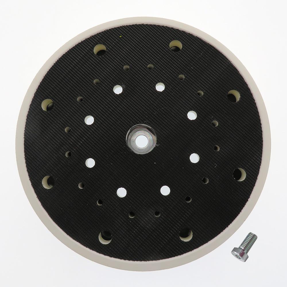 6 Inch 33holes Hook and Loop Rubber Sanding Pad for Grinder Festool Sander