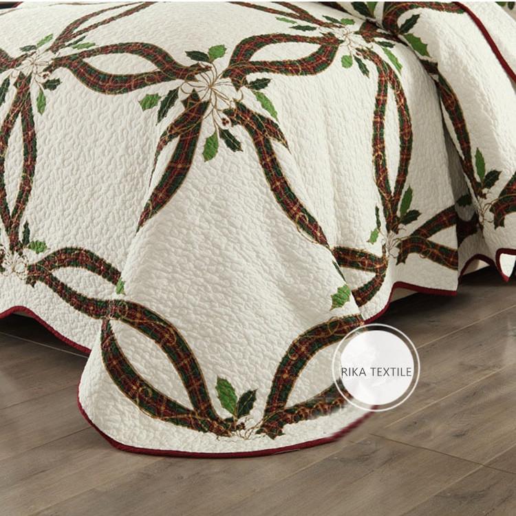 Двуспальное домашнее водонепроницаемое покрывало из 100% хлопка