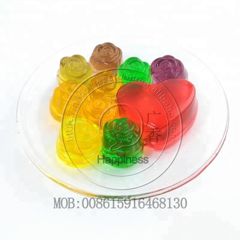hala mini smart heart fruti jelly candy multicolor pudding jelly