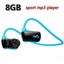 Free Shipping W273 Sports Mp3 player for sony headset 8GB NWZ-W273 Walkman Running earphone Mp3 player headphone