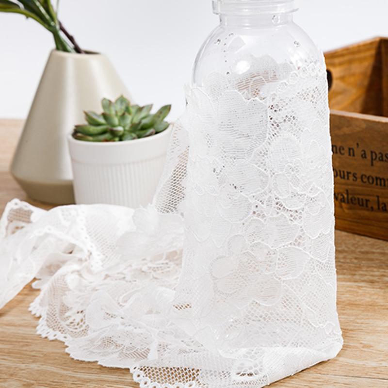 Fashion garment accessories wedding dress four kinds shapes white lace