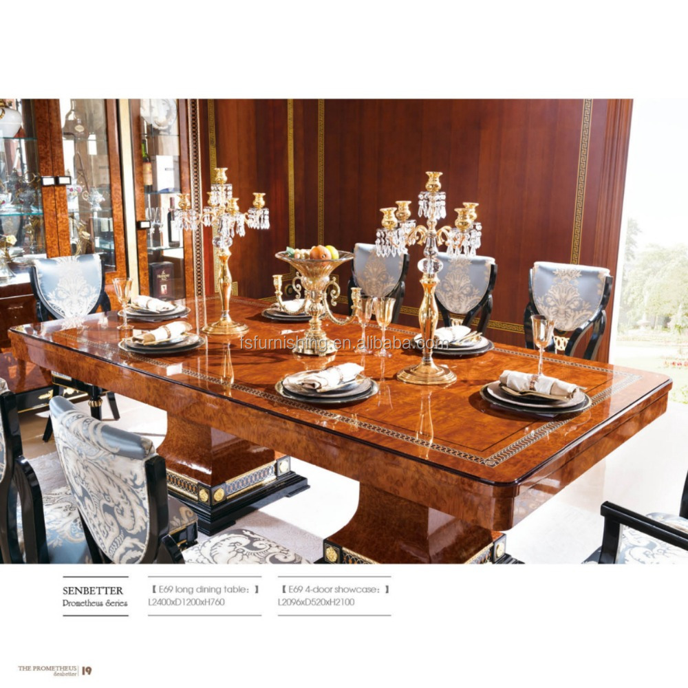 Yb69 Luxury Nice Elegant 10 Persons Dining Table With Chairs Foshan City Classic European Dining Set View 10 Person Dining Table And Chair Momoda Product Details From Foshan Momoda Furnishing Trade Co