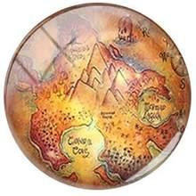 JWEIJIAO винтажный глобус Карта городов мира стеклянный кабошон купольные фотографии Wanderlust DIY драгоценные камни подвески для брелок-браслет ак...(Китай)
