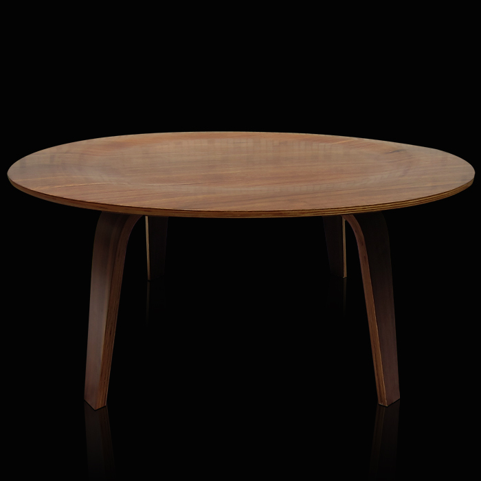 Denglai Myers Plywood Table Round Coffee Table Round