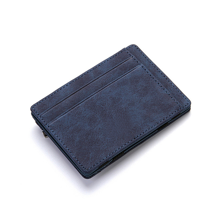 Multi-Colored New Arrival Simple Design Leather Mens Wallet