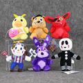 2016 Five Nights at Freddy Bear Fox Duck Rabbit Clown Kids juguetes Plush Toys