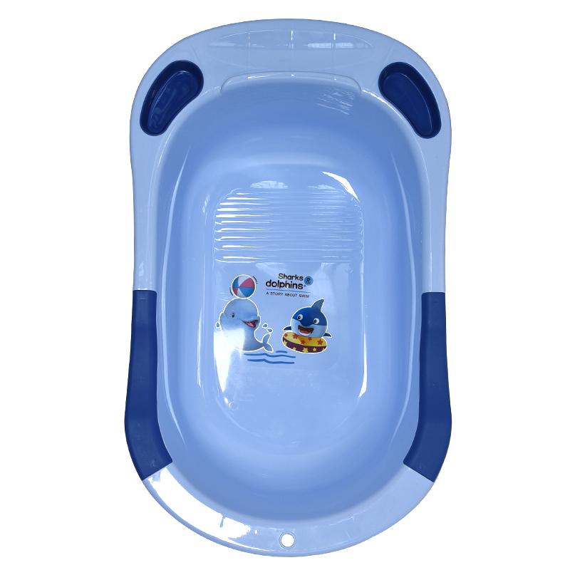 Collapsible Foldable Baby Washing Bath Spa Tub Seat Plastic Bathtub
